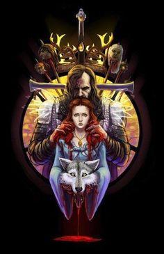 Sandor Clegane  Sansa Stark The Games of thrones