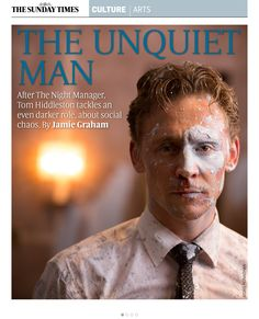 Tom Hiddleston. Culture Magazine. Via Torrilla. P2