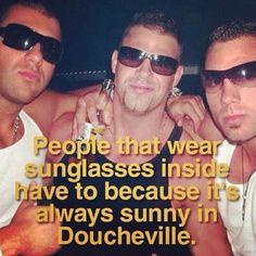 Wearing Sunglasses Inside