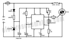 555 Temperature Controller Circuit