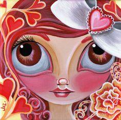 Lovey Dovey Painting  - Lovey Dovey Fine Art Print