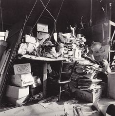 calder's studio