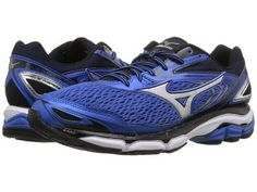 Mizuno - Wave Inspire 13 (Strong Blue/Silver/Black) Men's Running Shoes