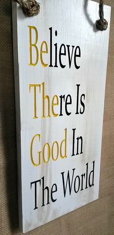 Be The Good by RandRSigns on Etsy