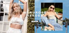 Enter the Nasty Galaxy. Shop the latest women's clothing and fashion accessories online from Nasty Gal. Web Banner Design, Web Banners, Fashion Banner, American Threads, Dimples, Editorial Design, Fashion Outfits, Womens Fashion, Nasty Gal