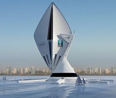 The Aircruise Futuristic Vertical Airship Embarks A New Era In Luxury Travel