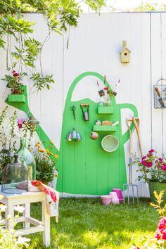 zomerse silhouetten van multiplex DIY voor je tuin
