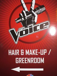 Where our artists get beautified! #VoiceYourDreams
