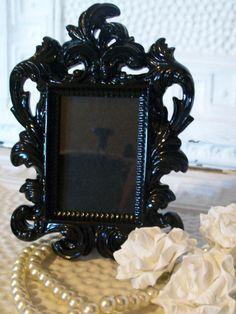 Black Ornate Frame