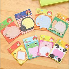 Memo Pads Practical Cute 3d Cartoon Kawaii Paper Scrapbooking Stickers Cat And Dog Memo Pads Notepad Sticky Note Label Office School Stationery Gift