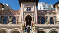 La Casa de los Navajas en Torremolinos (Málaga),un lugar ideal para ceremonias de bodas civiles. Palacio neomudéjar fundado en 1927 y de Interés Histórico.