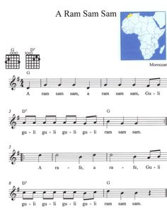 American Folk Songs that can be played with 2 guitar chords | Betty's Music