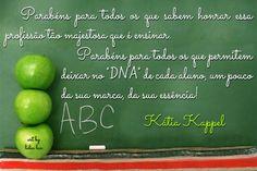 KATIA KAPPEL. PROFESSORES. EDUCADORES.