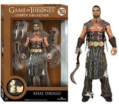 Khal Drogo: Funko Legacy Collection X Game Of Thrones Action Figure #GameofThrones