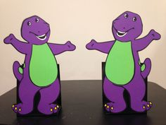 Check out this item in my Etsy shop https://www.etsy.com/listing/454142134/2-barney-balloon-holder-birthday