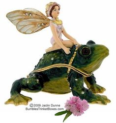 Trinket Box: Frog and Fairy
