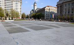 Freedom Plaza on Pennsylvania Avenue, Washington DC