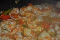 3 Gals and a Kitchen: Paula's Shrimp and Creamy Cheddar Grits