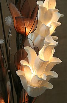 Check out the deal on Natural Elements Thai Lotus Lighted Floral Arrangement at Battery Operated Candles