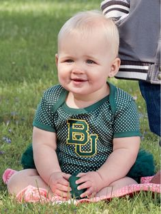 So cute!! // Baylor University Infant Girls' Bodysuit Tutu