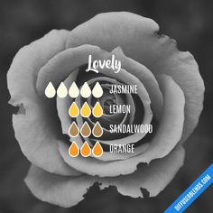 Lovely - Essential Oil Diffuser Blend