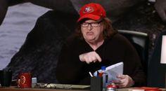 Worried? Michael Moore lashes out when film clip captures MAJOR pro-Trump buzz