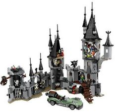 halloween mega mall lego monster fighters vampyre castle review httphalloweenshop1 - Lego Halloween Train