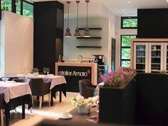 Atelier Amaro, czyli pierwsza polska restauracja z gwiazdką Michelin Top 10 Restaurants, Krakow, Cafe Design, Warsaw, Restaurant Bar, Table Decorations, Kitchen, Furniture, Boss
