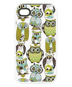 Wish it comes for my phone! Look what I found on #zulily! Give A Hoot Case Tough Case for iPhone 4/4s #zulilyfinds