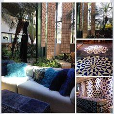 @eunicemuniz | Curtindo a Design Weekend SP.  #Interiordesign #designdeinteriores #arquiteturadeinteriores #tapetes #byKamy #NaturezaGeometrica #geometrizese #DW
