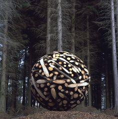 organic sculptures by Jaehyo Lee