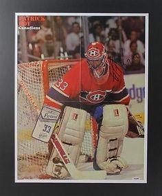 Patrick Roy Canadiens Publication