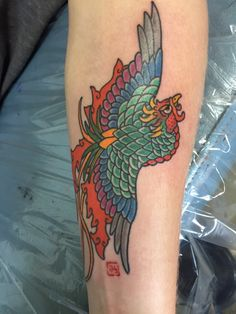 Gorgeous Phoenix Tattoos Designs - Media Democracy - Gorgeous Phoenix T. Feather Tattoo Design, Phoenix Tattoo Design, Feather Tattoos, Small Phoenix Tattoos, Small Tattoos, Tebori Tattoo, Phoenix Drawing, Big Tattoo, Tatting