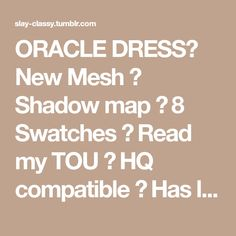 ORACLE DRESS✦ New Mesh ✦ Shadow map ✦ 8 Swatches ✦ Read my TOU ✦ HQ compatible ✦ Has little transparency issue on right knee DOWNLOADBuy me a coffee ❤ Sims 4 Gameplay, New Dress, Swatch, Mesh, Coffee, Reading, Kaffee, Cup Of Coffee, Reading Books