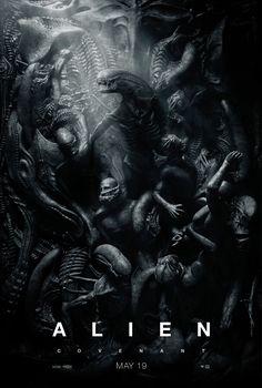 Alien: Covenant Zenomorph Teaser One Sheet Movie Poster