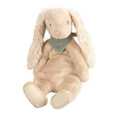 Conejo suave 'Pañuelo Azul'. Disponible en www.mylittleplace.es €27,90
