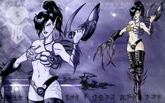 Dark Eldar chick done for a request and just because I thought she might be cool to draw. Presented in WALLPAPER SIZE for your convenience! Warhammer 40k Dark Eldar, Warhammer 40000, Wallpaper Size, Erotica, Elves, Deviantart, Fantasy, Drawings, Anime