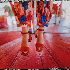 Make the jump 🤸 Eureka Shoes, Red Shoes, E Design, Red Flowers, Pop, Lifestyle, Womens Fashion, Party, How To Make