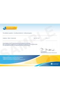 PYP Certificate - for sale on the IB store - done with the International Baccalaureate