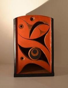 "Red Cedar Box by Rande Cook, 11"" x 11"" x 16"""