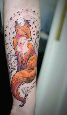 Tatouage renard