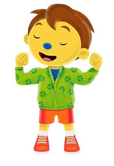 Dag Pompom! Character, Google, Pom Poms, Middle, Lettering