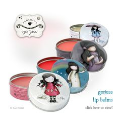 <p>It feels as if this cold weather will never end, but at least it gives an excuse to have a nice new Gorjuss lip balm! We have released 6 new designs, each of them is beautifully gorjuss and contains a fragranced lip balm. Strawberry fragranced 'I found my family in …</p>