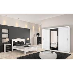 Guarda-roupas ajuda na decoração do quarto e na organização. Os modelos com portas de correr diminuem a necessidade de espaço e para proporcionam a sensação de amplitude.