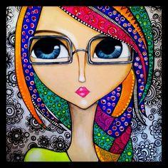 Romina Lerda Art @romilerdart - ACTITUD