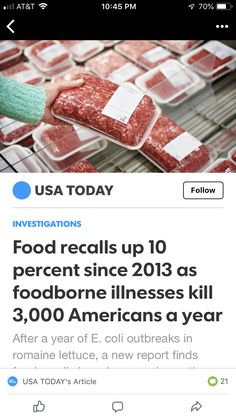 This is why we founded Nurture Ranch. Our 1 Steer Grass Fed Beef is Cleaner than industry standards. Clean Eating Recipes, Diet Recipes, Cancer Screening Tests, Pecan Wood, Ranch Recipe, Alcohol Is A Drug, Food Recalls, Grass Fed Beef, Food Nutrition