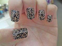 Animal print nails; my nails.