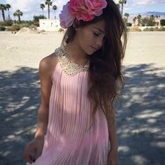 Khia lopez in pink from www.weresofancy.com Tween style blog