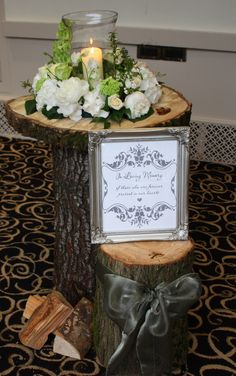 wedding floral designs from trees | Flower Design Events