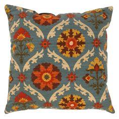 Pillow Perfect Mayan Medallion Adobe Throw Pillow - 4741